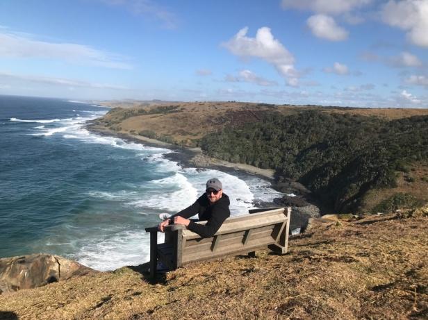 Tadhg Peavoy at Morgan Bay