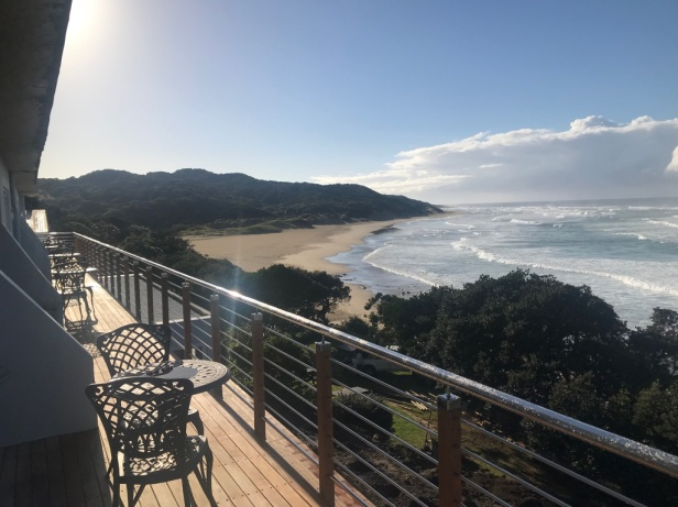 The view from the Morgan Bay Hotel